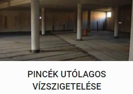 Pincék Utólagos Vízszigetelése - DOMINIK BAU Kft.